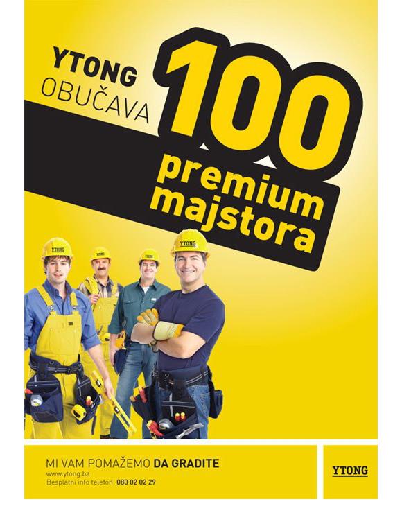 100 Premium majstora