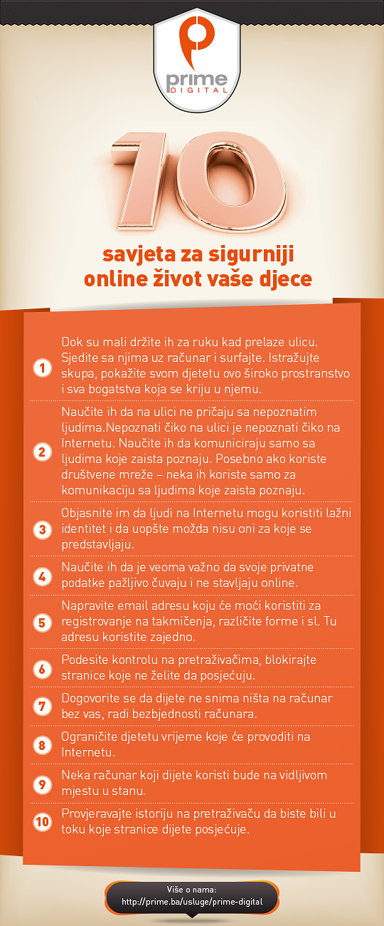 10 savjeta za sigurnost djece na internetu