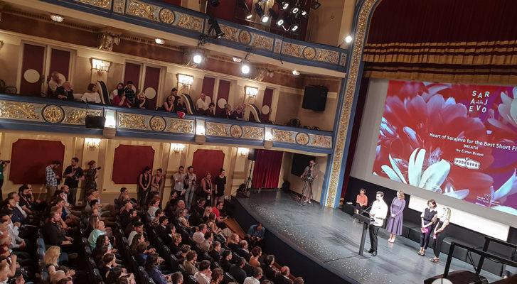 Srce Sarajeva za kratki film Dah sponsored by Podravka